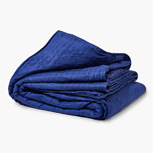 Blue Gravity Weighted Blanket