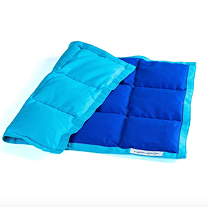 Blue Sensacalm Weighted Lap Pad